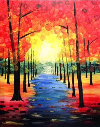 A Autumn Creek paint nite project by Yaymaker