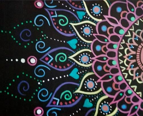 A Spiritual Awakening II paint nite project by Yaymaker