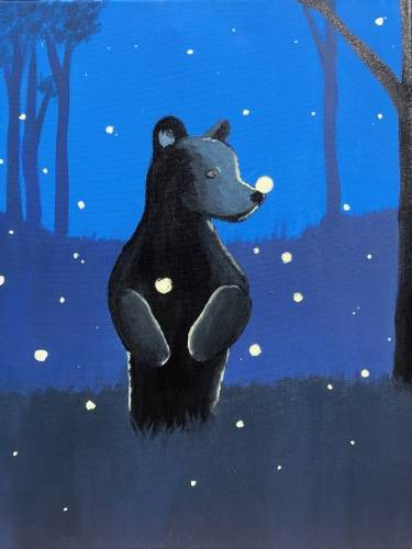 A Firefly Bear paint nite project by Yaymaker