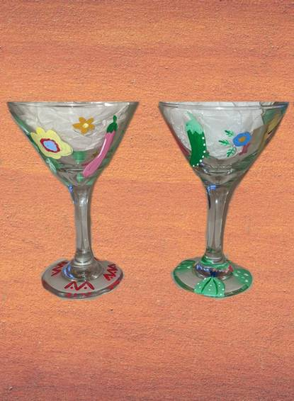 A Cinco de Mayo Martini glasses experience project by Yaymaker