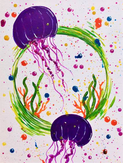 A Jellyfish Splash experience project by Yaymaker