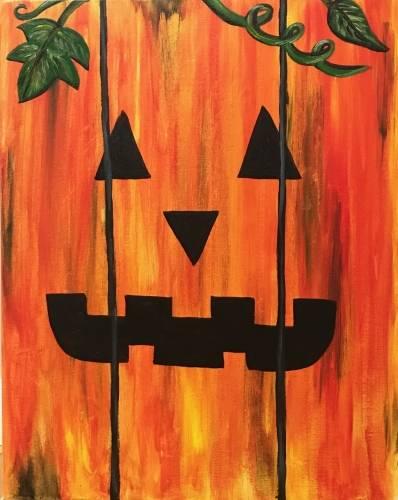 A Palette Pumpkin paint nite project by Yaymaker