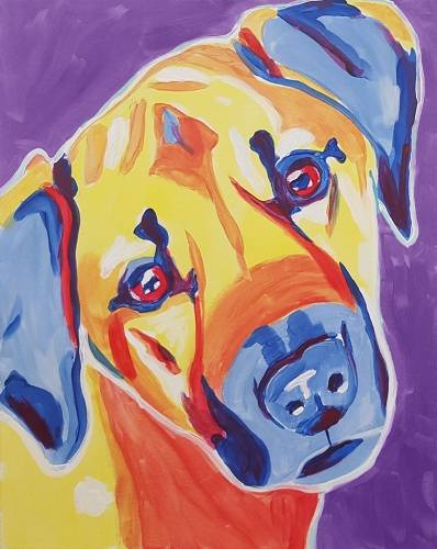 A Paint Your Pet Events paint nite project by Yaymaker