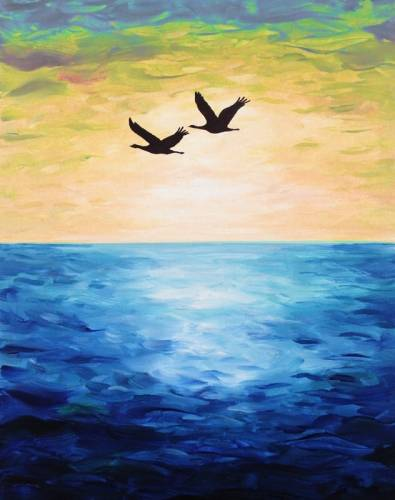 A Birds of a Feather III paint nite project by Yaymaker