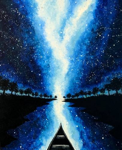 A Cruise Through the Galaxy paint nite project by Yaymaker
