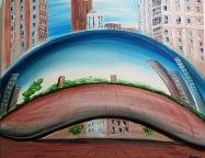 A Bean Chicago paint nite project by Yaymaker
