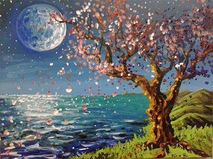 A Melancholia paint nite project by Yaymaker
