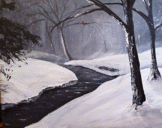 A Dead of Winter Black and white 1 paint nite project by Yaymaker