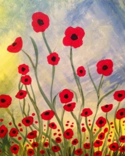 A Poppy Power paint nite project by Yaymaker