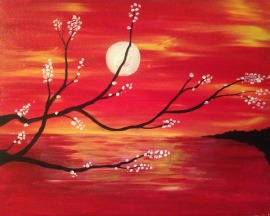 A Burning Sky 1 paint nite project by Yaymaker