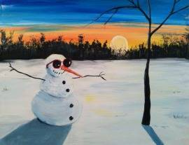 A Indian Summer paint nite project by Yaymaker