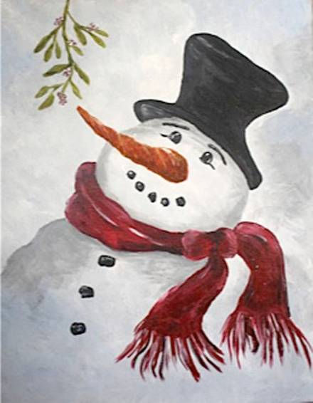 A Mr Frosty paint nite project by Yaymaker