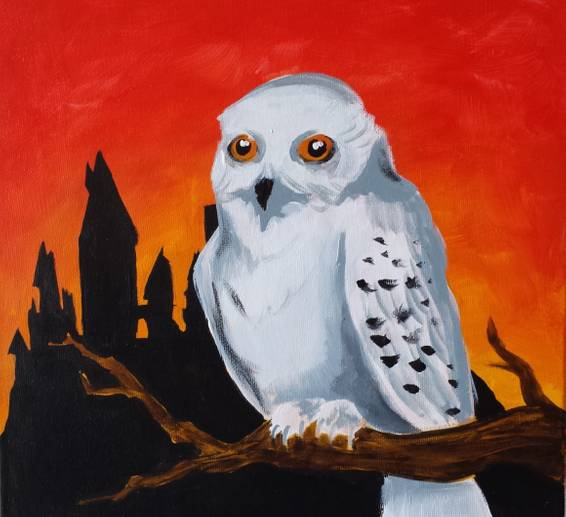 A Paint and Play Harry Potter Painting and Trivia Night experience project by Yaymaker