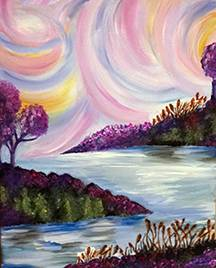 A Swirlscape paint nite project by Yaymaker
