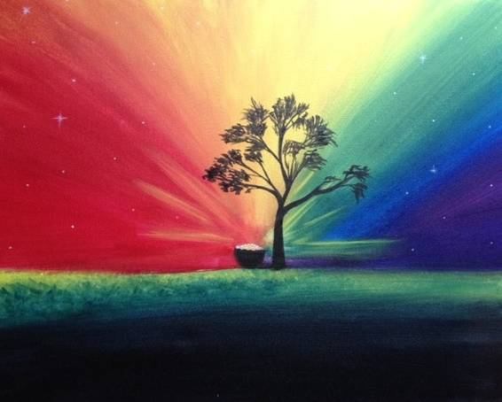A Pot of Gold paint nite project by Yaymaker