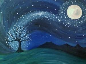 A Stardust paint nite project by Yaymaker