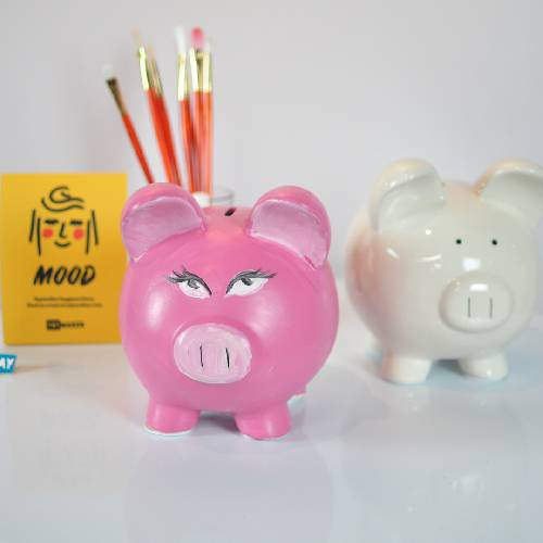 A Piggy Bank Ceramic I experience project by Yaymaker