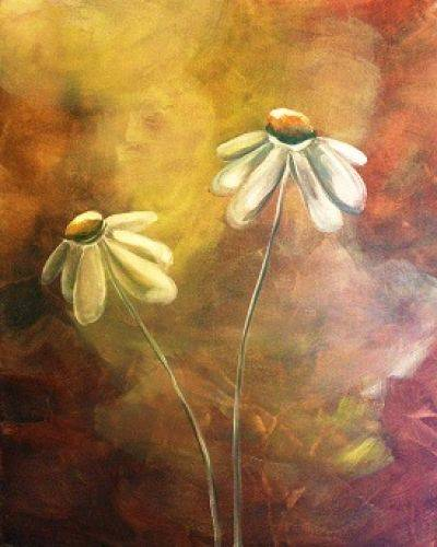 A Daisies 5 paint nite project by Yaymaker
