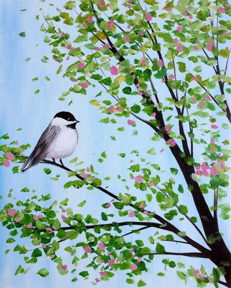 A Springtime Chickadee experience project by Yaymaker