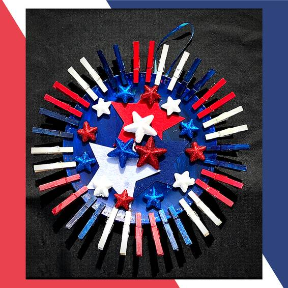 A Patriotic Wreath experience project by Yaymaker