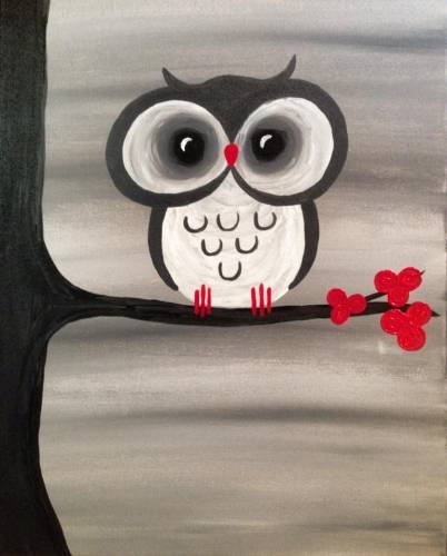 A Baby Big Eyes paint nite project by Yaymaker