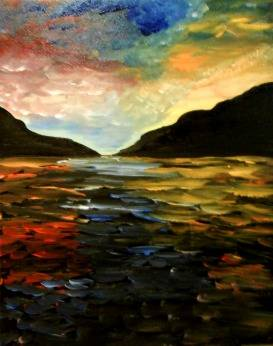 A Goodnight Mountain paint nite project by Yaymaker