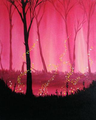 A Red Twilight paint nite project by Yaymaker