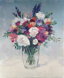 A Bouquet paint nite project by Yaymaker