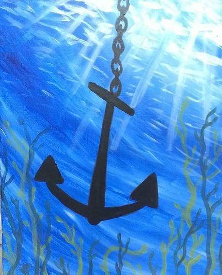 A Anchor Light paint nite project by Yaymaker