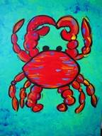 A Mr Crabby paint nite project by Yaymaker