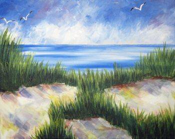 A Dunes paint nite project by Yaymaker