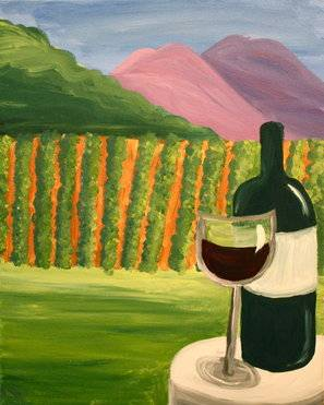 A Sonoma paint nite project by Yaymaker