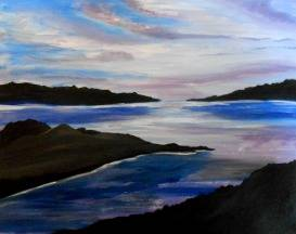 A San Juan Islands paint nite project by Yaymaker
