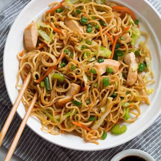 A How to Make American Yakisoba  Virtual Event experience project by Yaymaker