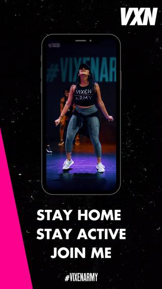 A VXN Workout with Danielle B experience project by Yaymaker