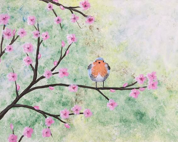 A Cherry Blossom Robin experience project by Yaymaker