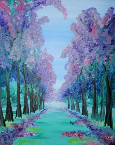 A Green Path paint nite project by Yaymaker