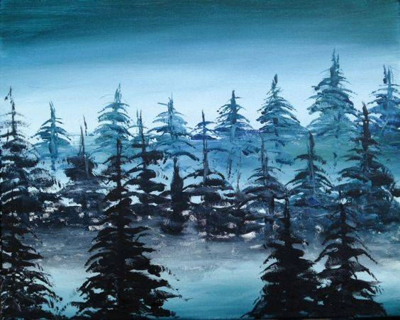 A Blue Pines paint nite project by Yaymaker