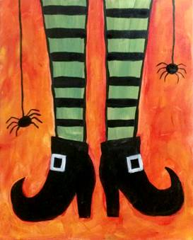 A Lifes A Witch paint nite project by Yaymaker