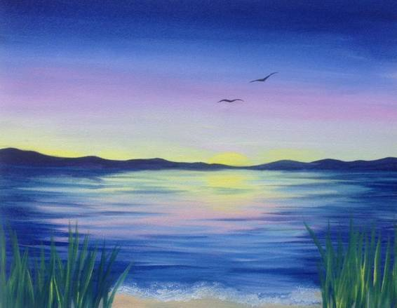 A Summers End paint nite project by Yaymaker