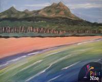 A Diamondhead Oahu paint nite project by Yaymaker
