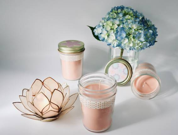 A Jelly Jar Candle Trio experience project by Yaymaker