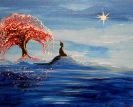 A The North Star paint nite project by Yaymaker