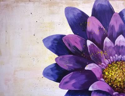 A Quarter Bloom paint nite project by Yaymaker