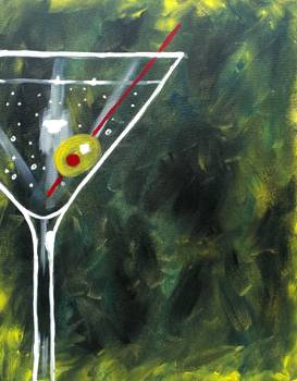 A Green Martini paint nite project by Yaymaker