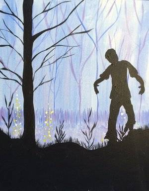 A Zombie paint nite project by Yaymaker