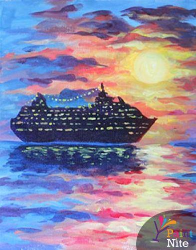 A Cruise paint nite project by Yaymaker