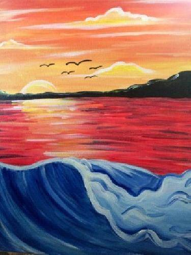 A Catalina Dreaming paint nite project by Yaymaker