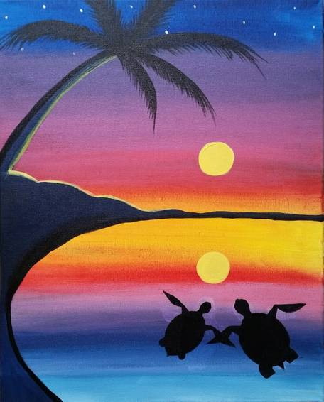 A 2Gether4Ever paint nite project by Yaymaker