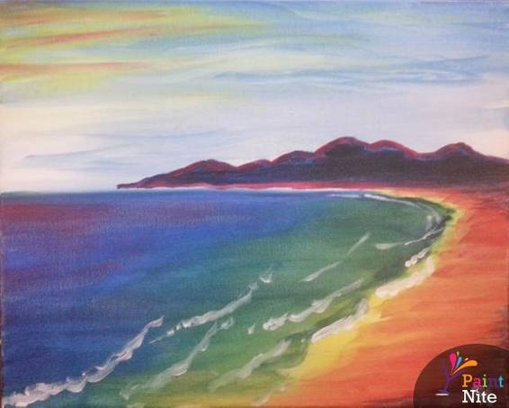 A Prismatic Shore paint nite project by Yaymaker